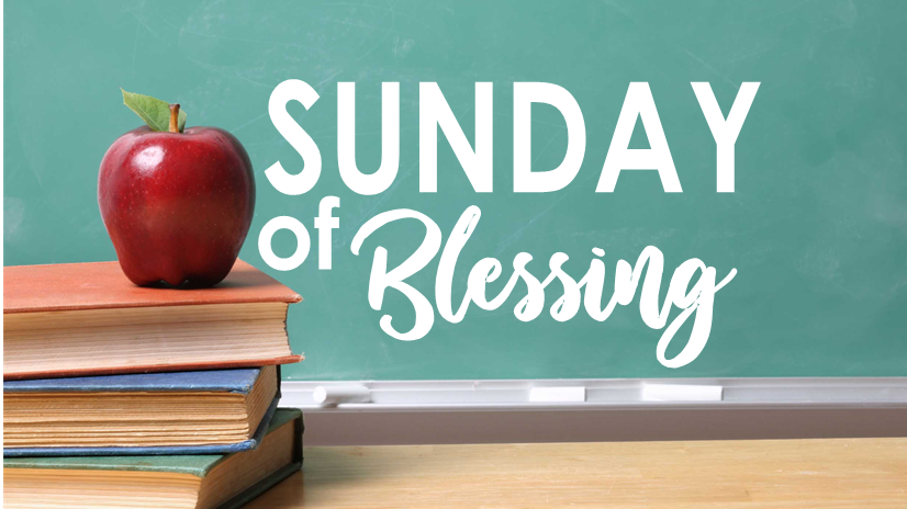 Sunday of Blessing
